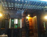 แสงไฟเพิ่มเสน่ห์ให้บ้านไม้
