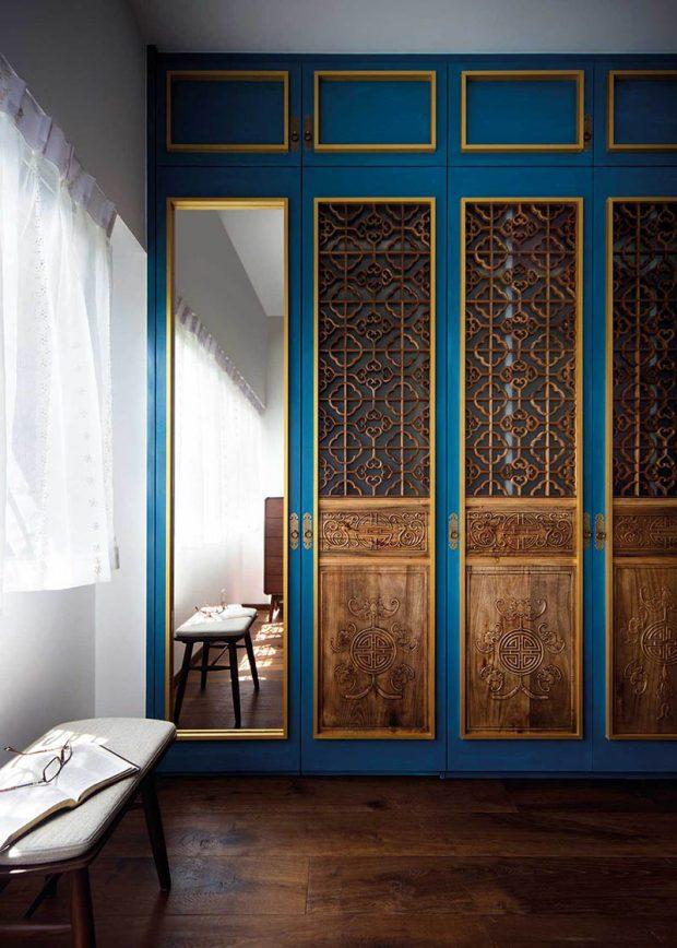 งานไม้ศิลปะจีนมลายู