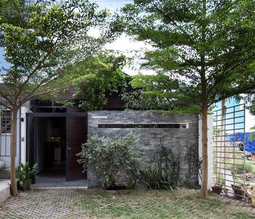 บ้านชั้นเดียว Modern Tropical
