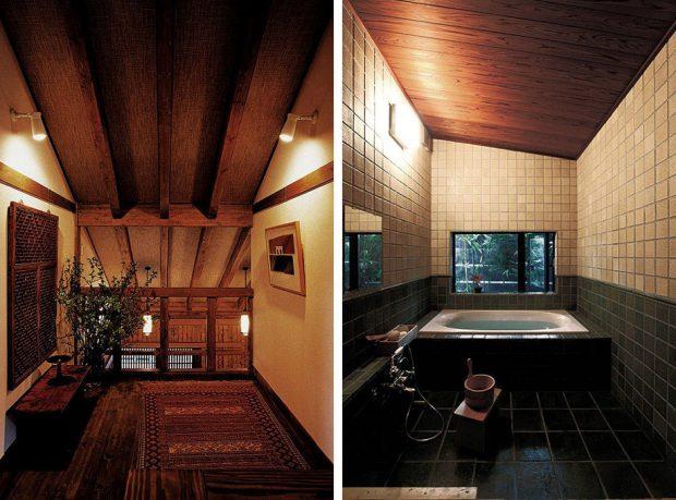 ในบ้านและห้องน้ำ
