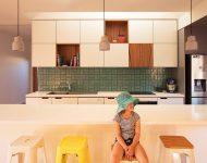 บานตู้ครัวเก๋ ๆ