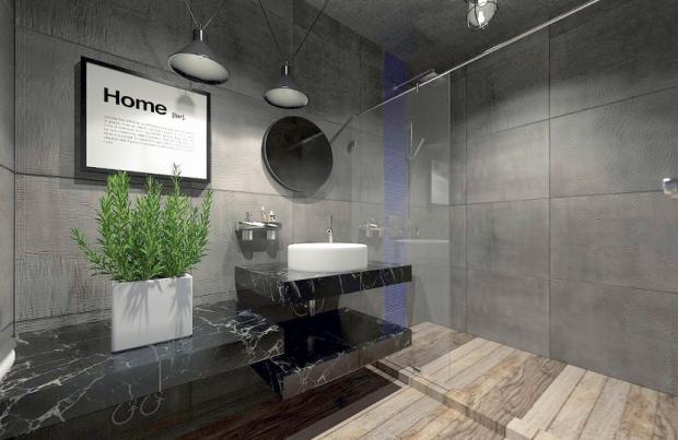 ห้องน้ำดูแลทำความสะอาดง่าย