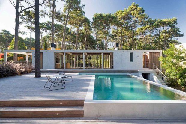บ้านโมเดิร์นพร้อมสระว่ายน้ำ