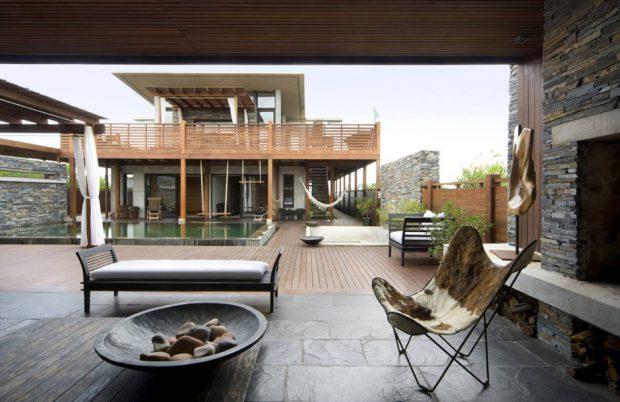 บ้านสองชั้น modern Tropical