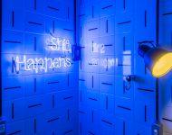 หลอด LED สีน้ำเงิน