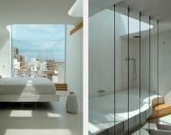 ห้องนอนและห้องน้ำโปร่งใส