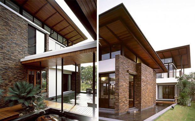 ช่องแสงและช่องลมรอบบ้าน