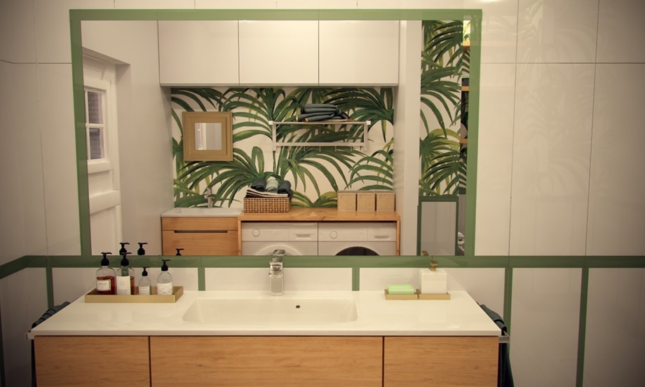 ห้องน้ำกลิ่นอาย tropical
