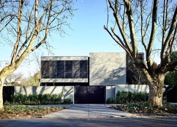 บ้านโมเดิร์นโทนสีขาว-ดำ