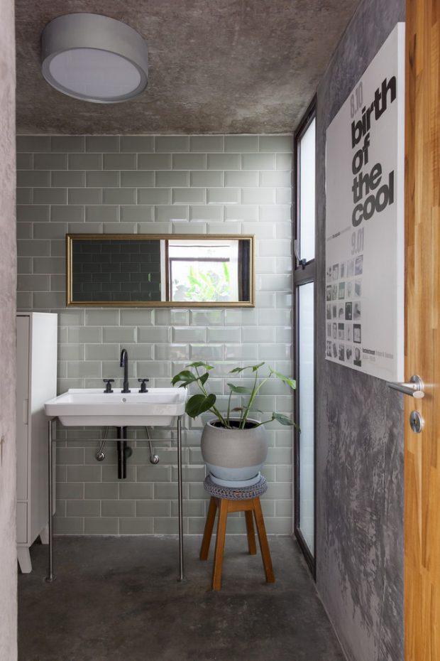 ห้องน้ำน่ารักเป็นธรรมชาติ