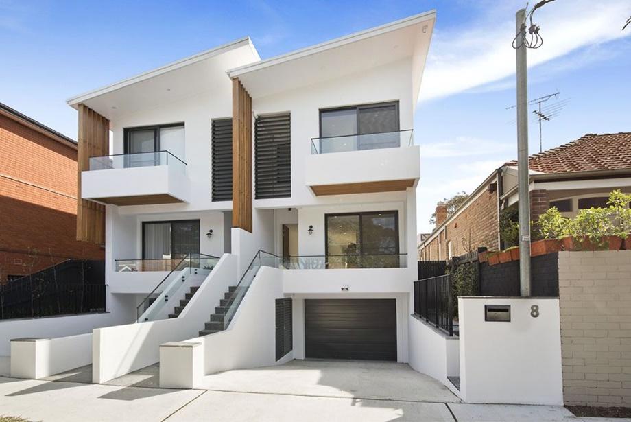 บ้านแฝดสไตล์ Contemporary