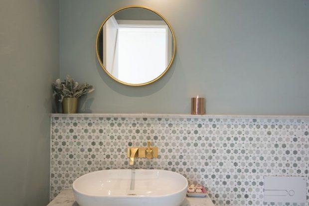 ห้องน้ำสไตล์ Contemporary