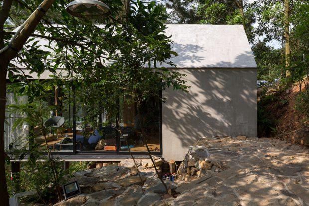 บ้านพักน่ารักกลางป่า