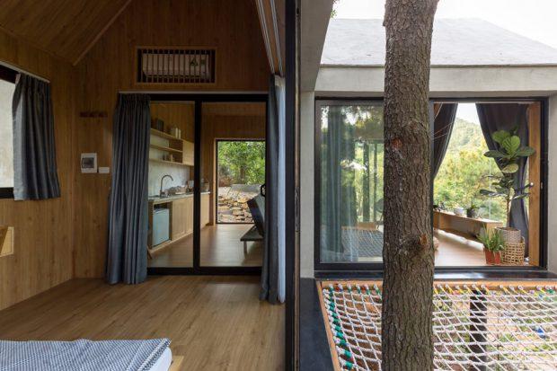 บ้านพักบนต้นไม้หลังเล็ก ๆ