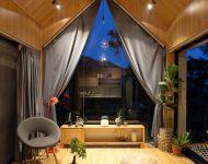 ห้องนั่งเล่นวิวธรรมชาติ