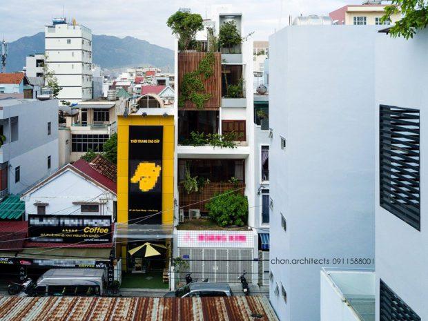 รีโนเวทตึกเก่าในเวียดนาม