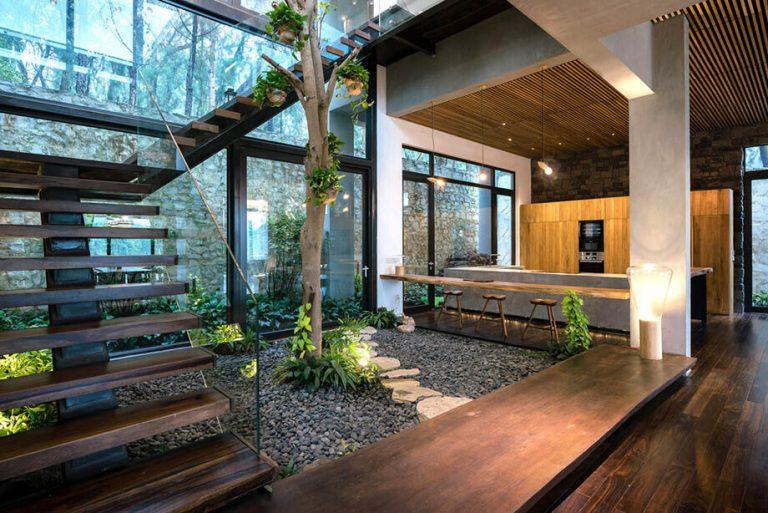 ออกแบบบ้านให้อยู่ร่วมกับธรรมชาติ