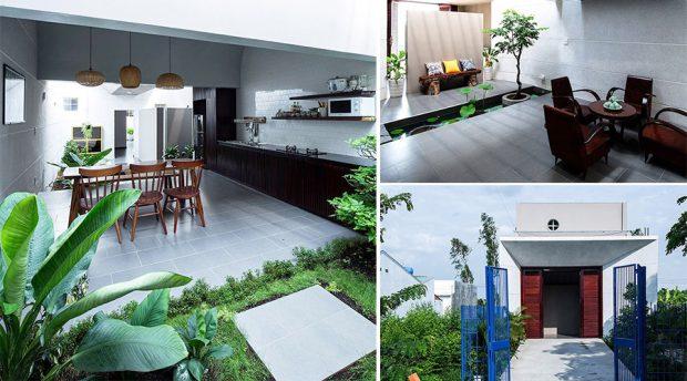 จัดสวนในบ้านขนาดเล็ก