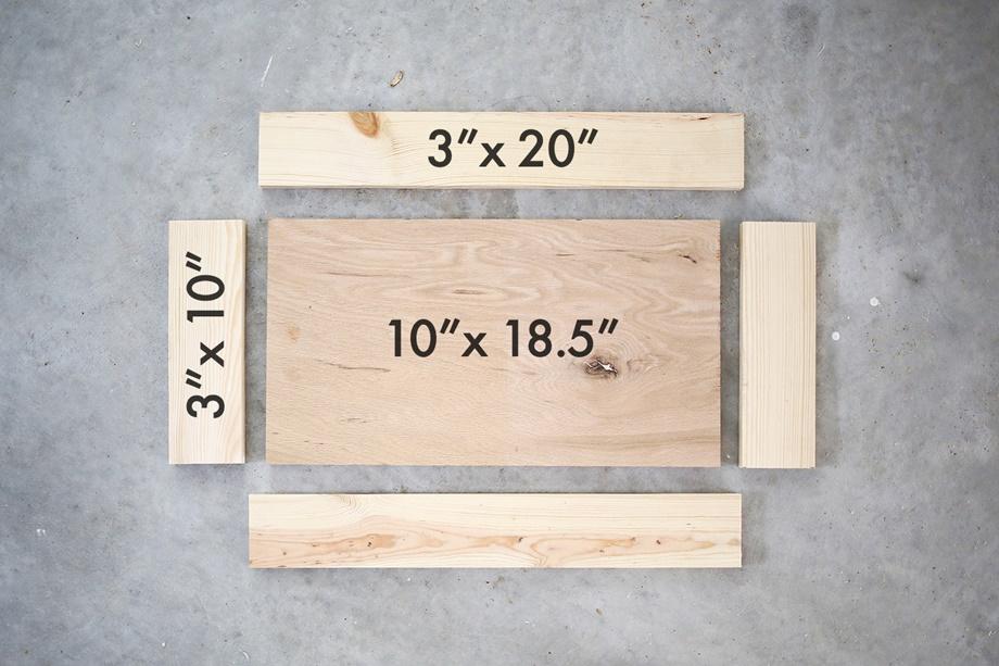 เตรียมไม้ทำกล่อง