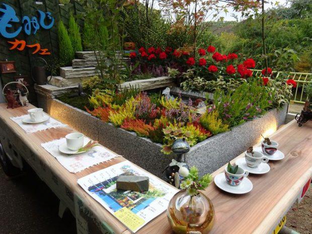 จัดสวนเล็ก ๆ พร้อมมุมกาแฟ