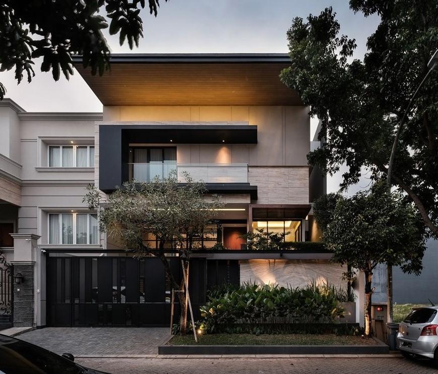 บ้านสไตล์ Modern-Tropical