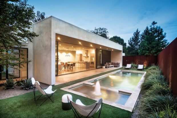 บ้านโมเดิร์นมี Pool Terrace