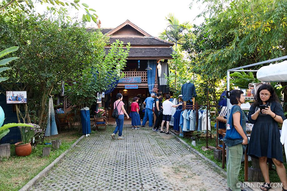 บ้านเรือนไทย ชุมชนโหล่งฮิมคาว เชียงใหม่