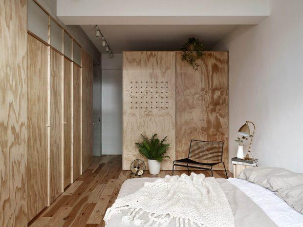 ห้องนอนอารมณ์ธรรมชาติ
