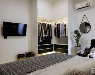 walk-in closet ในห้องนอน