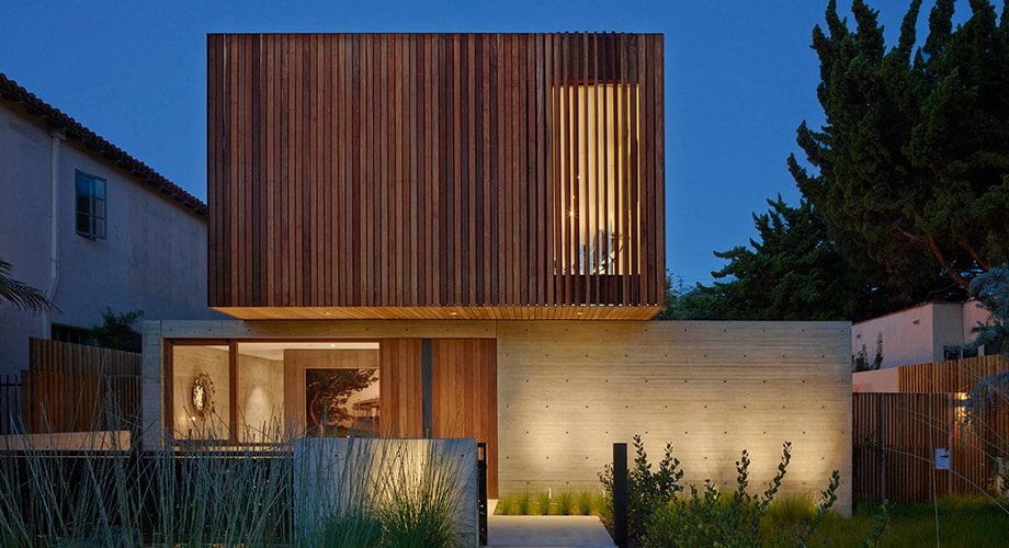 บ้านคอนกรีตและไม้