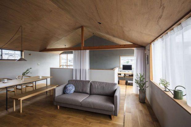 ฝ้าเพดานกรุด้วยไม้