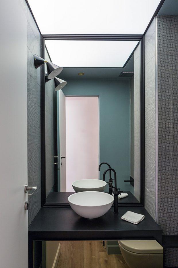 ตกแต่งห้องน้ำเล็ก ๆ