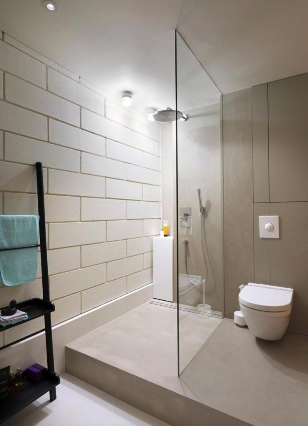 ห้องอาบน้ำแยกโซนเปียก