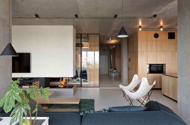 พื้นและเพดานคอนกรีต