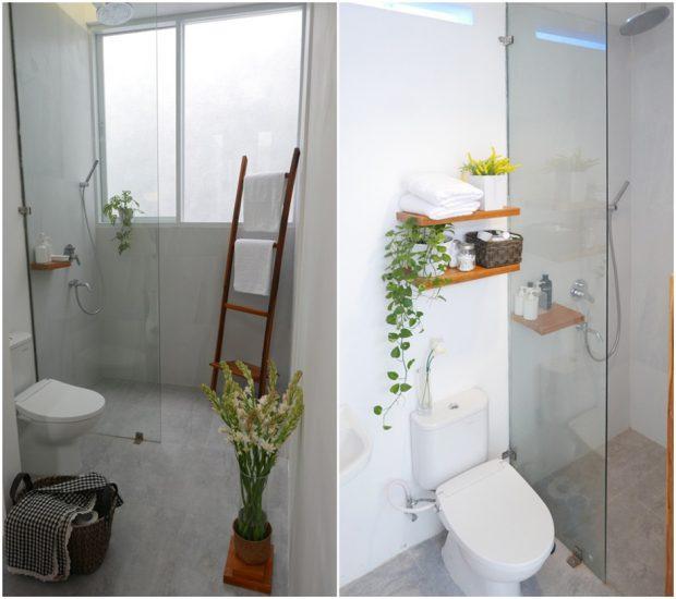 ห้องน้ำสไตล์ญี่ปุ่นโมเดิร์น