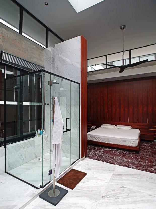 ห้องนอนติดสกายไลท์