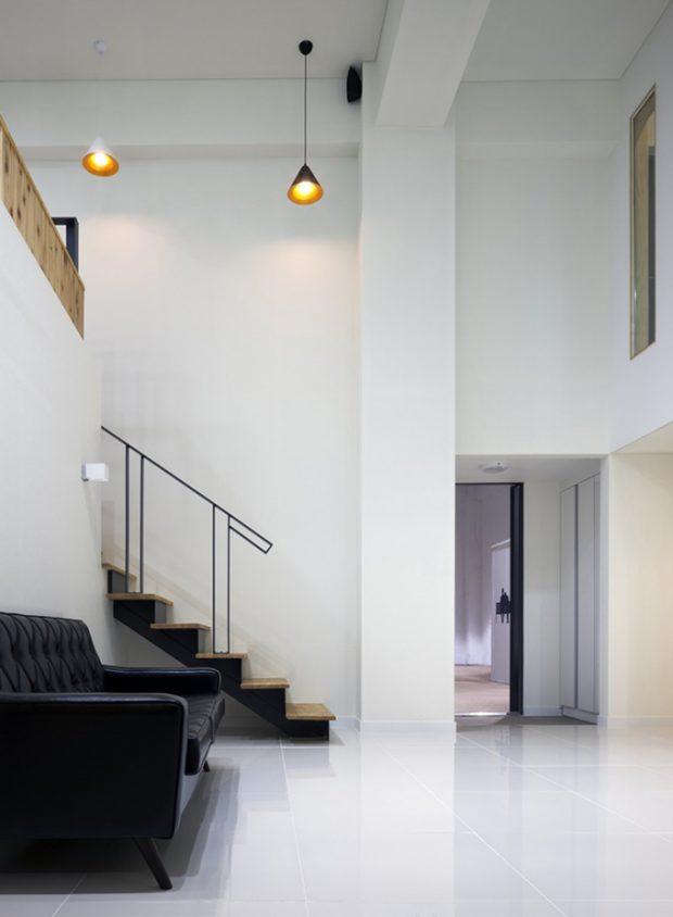บ้านโทนสีขาว-ดำ