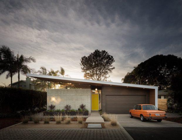 บ้าน Mid century modern