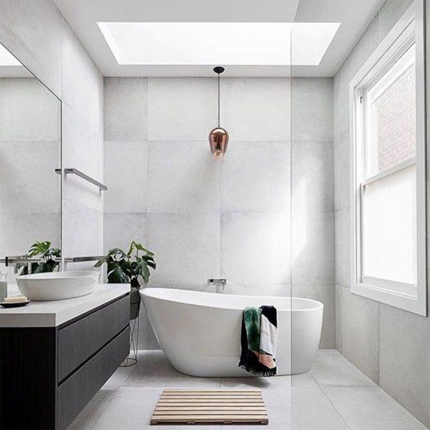 ห้องน้ำรับแสง
