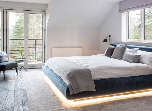 ไฟอัตโนมัติขอบล่างเตียง