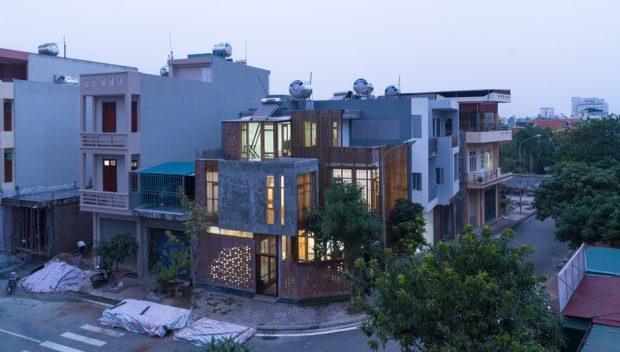 บ้านโมเดิร์นสไตล์ลอฟท์ในเวียดนาม