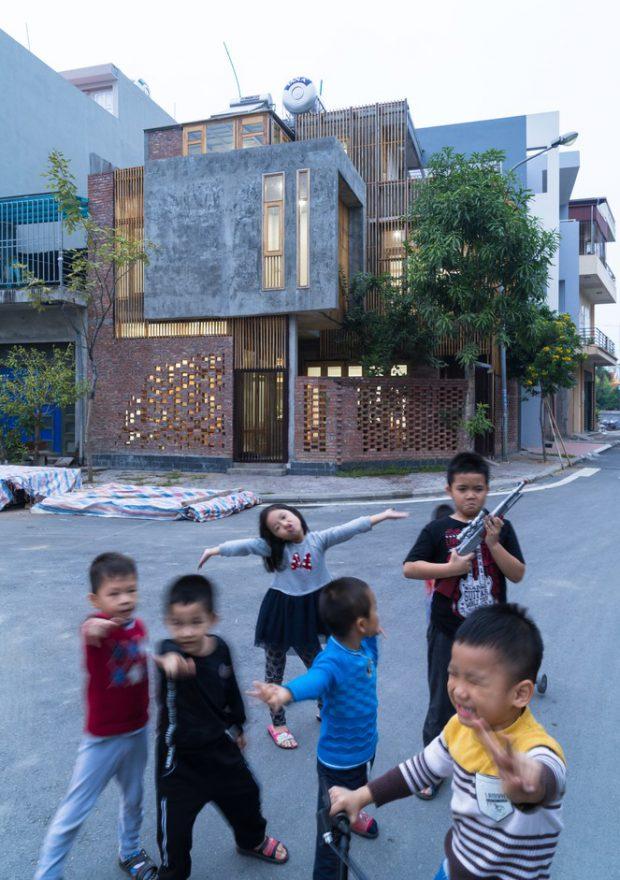 บ้านโมเดิร์นลอฟท์ในเวียดนาม