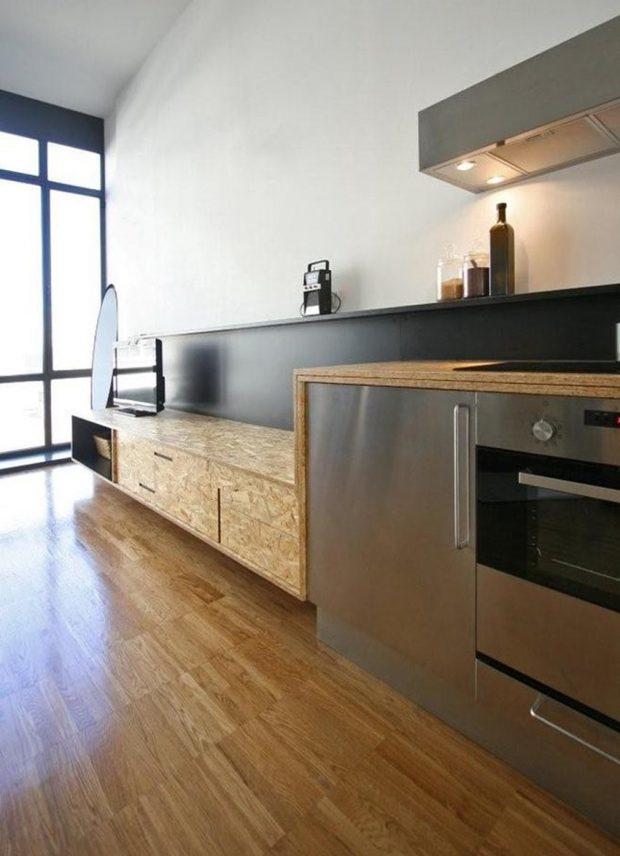ตู้ทำจากไม้ OSB