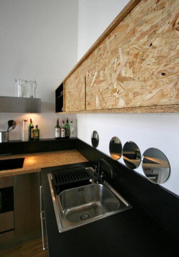 ตู้ครัวไม้ OSB