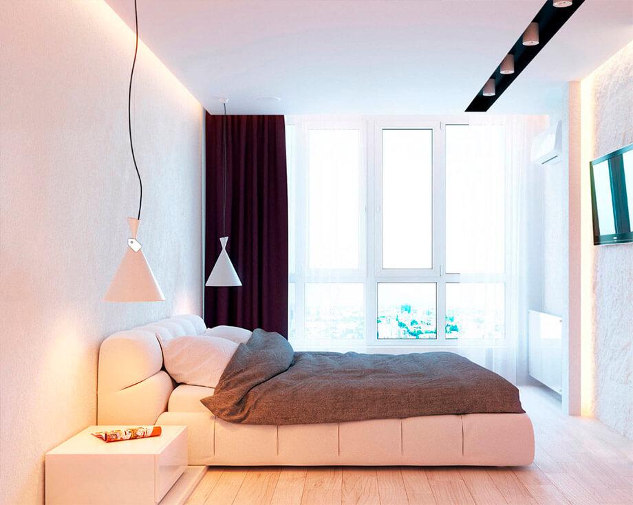 โคมไฟในห้องนอน