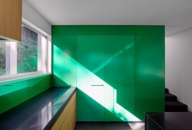 ครัว Modern โทนสีเขียว