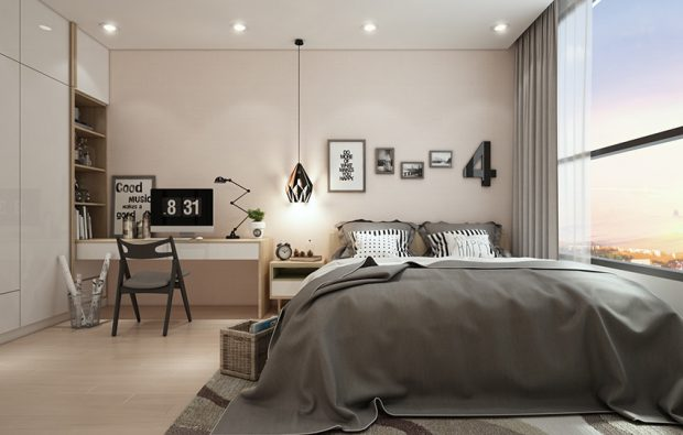 ห้องนอนสไตล์นอร์ดิก