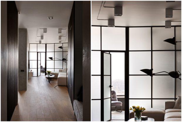ผนังกระจกโปร่งแสง