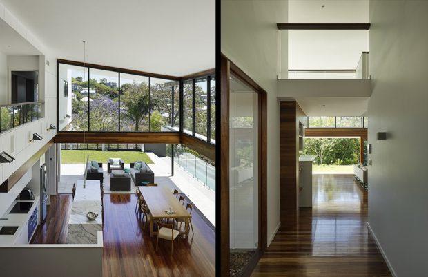 บ้านโถงสูงโปร่งโล่งสบาย