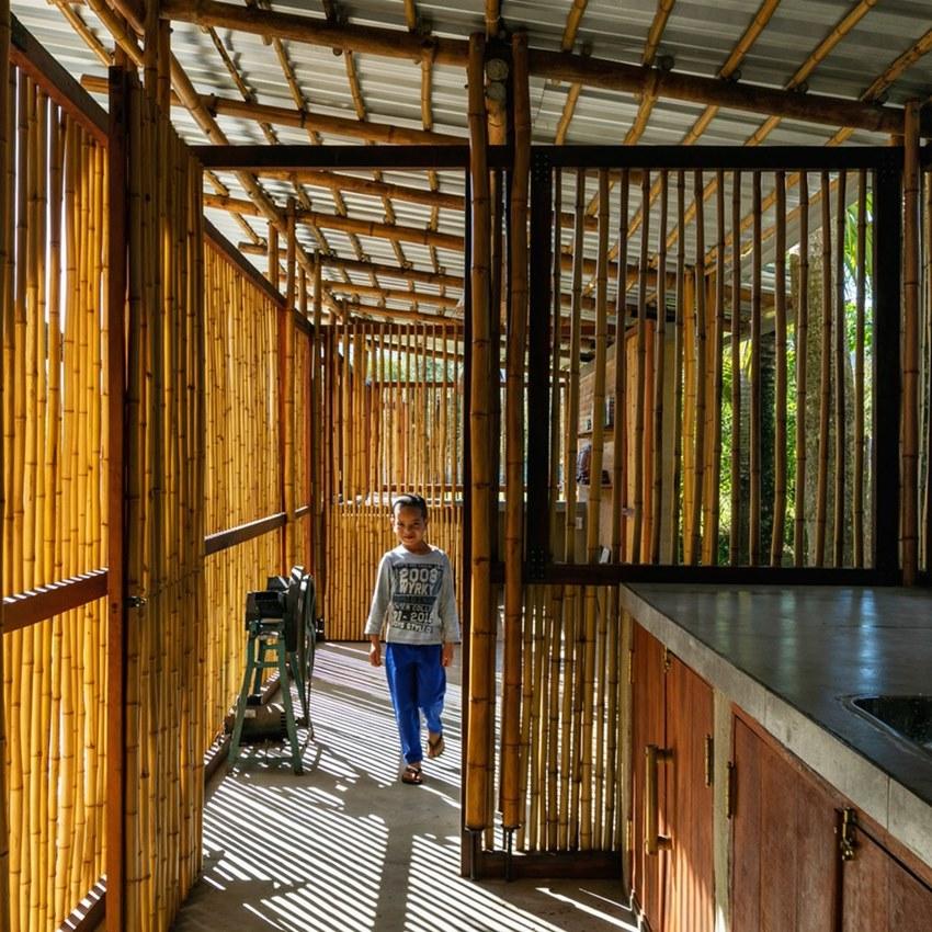 อาคารไม้ไผ่